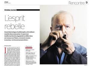 Thibault Stipal - Photographe - Christian Jambet - Le Monde