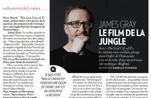 Thibault Stipal - Photographe - James Gray pour Paris Match