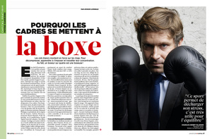 Thibault Stipal - Photographe - Capital magazine - Boxe